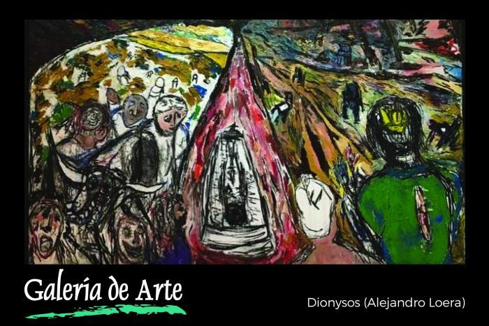 Exposición: De Dionysos para Ariadna