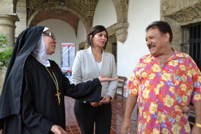 """Presentan """"Los enredos de una monja"""" en el Ex Convento del Carmen"""