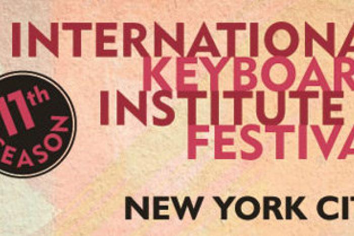 Participación como preparación de estudios de maestría en el International Keyboard Institute & Festival, en la ciudad de Nueva York