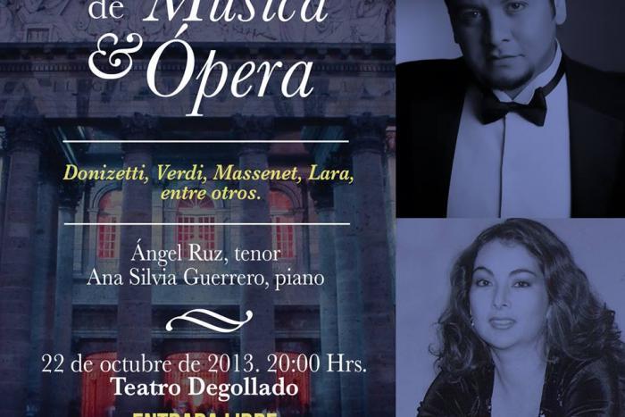 Presentan concierto De Mozart a Lara en el Teatro Degollado