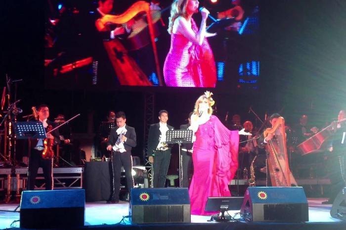 Cantará Filippa Giordano en Lagos de Moreno
