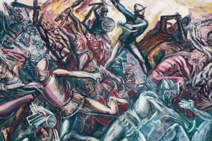 Exposición: Orozco y los Teules, 1947