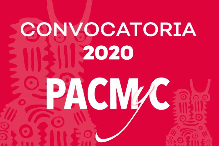 Convocatoria PACMYC 2020