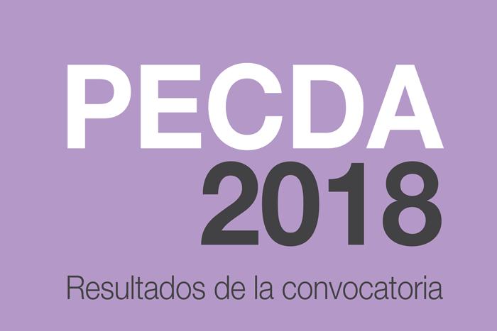 RESULTADOS: PECDA 2018