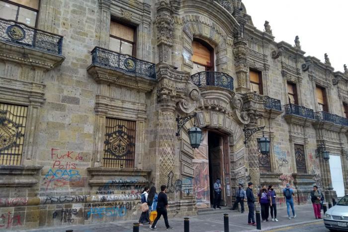 Inician trabajos de restauración y rehabilitación en el edificio del Palacio de Gobierno del Estado