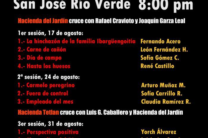 """Se presenta la primera edición de cortometrajes """"Cine Huarache"""" en la colonia San José Río Verde, en Guadalajara"""