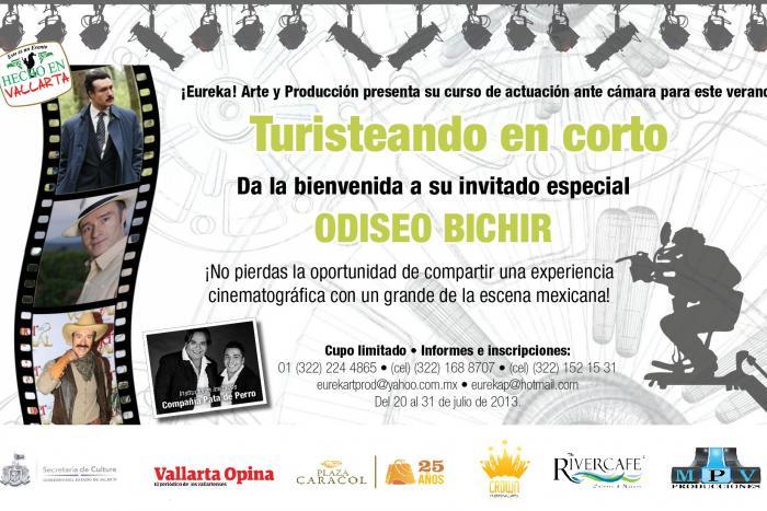 """Inicia """"Turisteando en Corto"""" con Odiseo Bichir"""