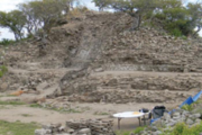 El sitio arqueológico Teocaltitán está ubicado en la comunidad del mismo nombre, en el municipio de Jalostotitlán.