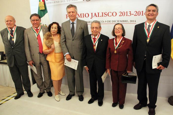 Entregan Premio Jalisco 2013-2014